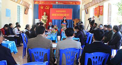 Tổ Chức Sinh Hoạt Chi Bộ Mẫu Của Đảng Ủy Phường Quyết Tiến, Thành Phố