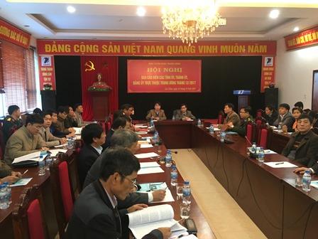 Hội nghị tại điểm cầu Ban Tuyên giáo Tỉnh ủy Lai Châu