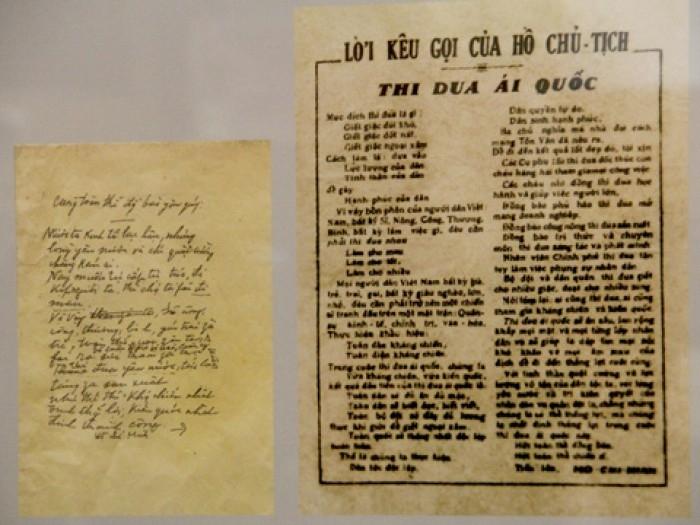 Tài liệu gốc, lưu tại Bảo tàng Hồ Chí Minh
