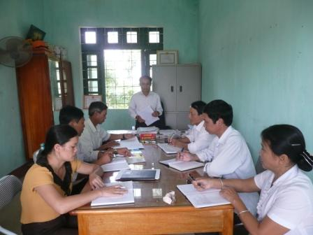 Cấp ủy, chính quyền xã Mường Cang họp bàn tiếp tục triển khai nhiệm vụ, giải pháp thực hiện Đề án