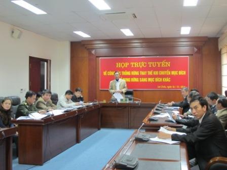 Đồng chí Nguyễn Hữu Ái, Phó Giám đốc Sở NN