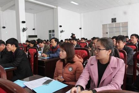 Học viên tham gia Hội nghị tập huấn