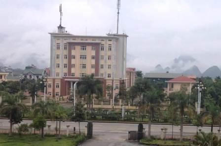 Trụ sở Cục Thuế tỉnh Lai Châu