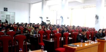 Các đại biểu tham gia Hội nghị tập huấn