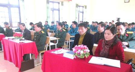 Đại biểu dự Lễ khai mạc
