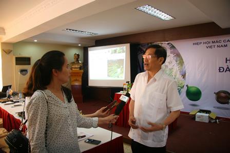 Đồng chí Đỗ Ngọc An - Phó Bí thư Tỉnh ủy, Chủ tịch UBND tỉnh  trả lời phỏng vấn