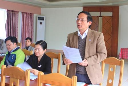 Đại biểu thảo luận tại Hội nghị