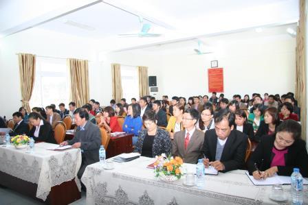 Quang cảnh buổi Lễ khai giảng