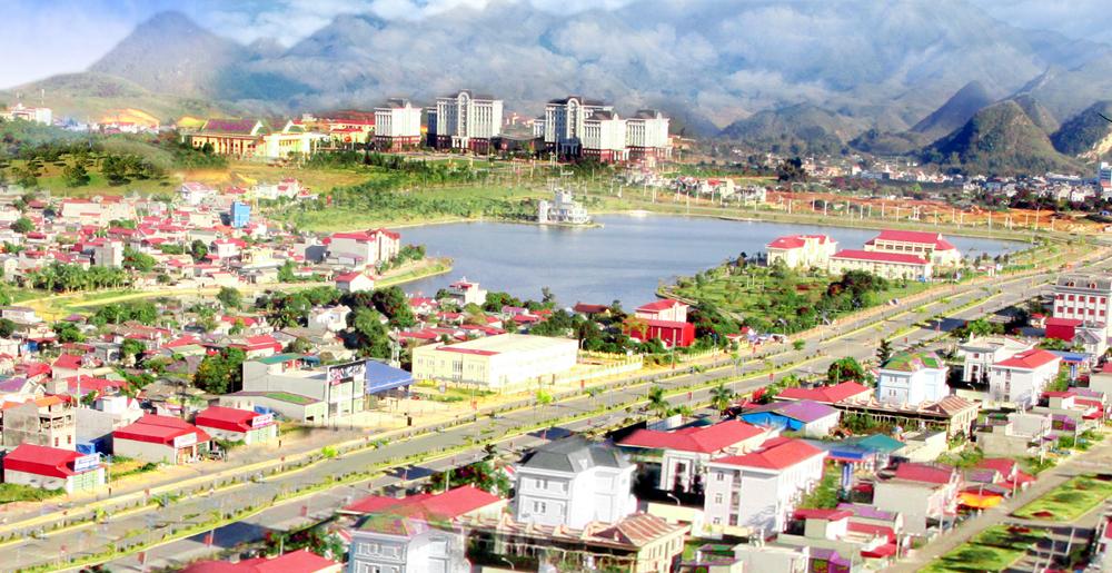 Một góc thành phố Lai Châu