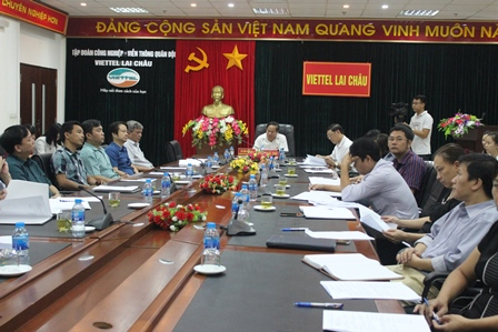 Quang cảnh Hội nghị tại Lai Châu
