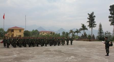 Lãnh đạo Bộ CHQS tỉnh quán triệt mệnh lệnh hành quân