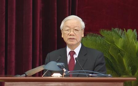 Tổng Bí thư Nguyễn Phú Trọng phát biểu bế mạc Hội nghị Trung ương 8 khóa XII