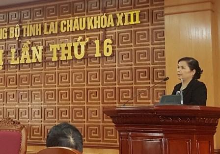 Đồng chí Giàng Páo Mỷ, Ủy viên BCH Trung ương Đảng, Bí thư Tỉnh ủy phát biểu chỉ đạo tại Hội nghị