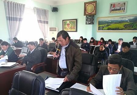 Các đại biểu tham gia thảo luận tại hội nghị