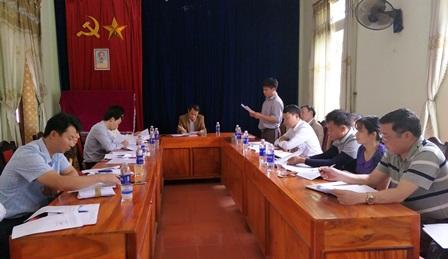 Đoàn công tác của Ban Tuyên giáo Tỉnh ủy tiến hành khảo sát việc thực hiện Chỉ thị số 11-CT/TW tại Đảng bộ xã Nậm Xe, huyện Phong Thổ
