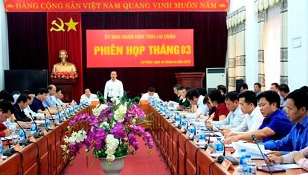 Phiên họp thường kỳ UBND tỉnh tháng 3/2019: Bàn giải pháp đột phá để hoàn thành các chỉ tiêu Nghị quyết Đại hội Đảng bộ tỉnh lần thứ XIII