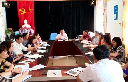 Chi bộ phòng GD & ĐT huyện Nậm Nhùn học chuyên đề năm 2019