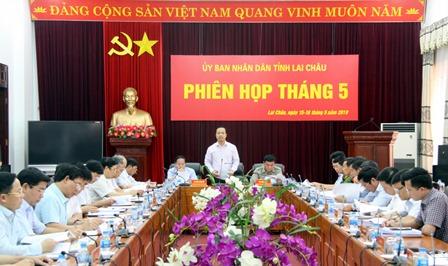 Đồng chí Trần Tiến Dũng – Phó Bí thư Tỉnh ủy, Chủ tịch UBND tỉnh kết luận phiên họp