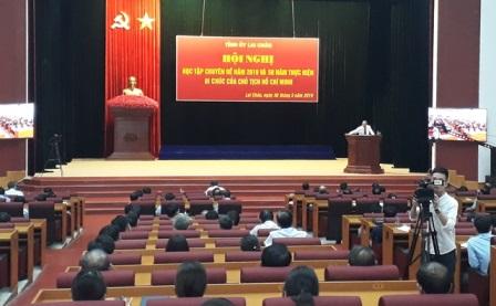 Hội nghị học tập Chuyên đề năm 2019 và 50 năm thực hiện Di chúc của Chủ tịch Hồ Chí Minh