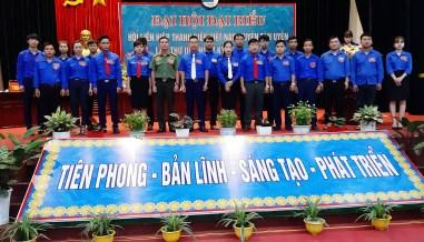 Uỷ ban Hội Liên hiệp thanh niên huyện Tân Uyên nhiệm kỳ 2019 - 2024 ra mắt Đại hội