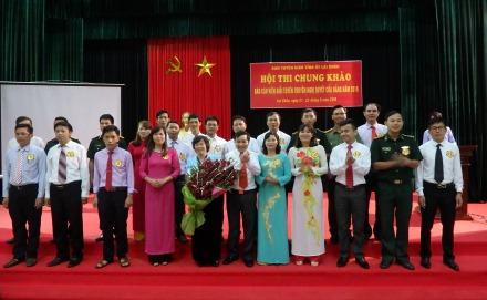 Thông qua các hội thi để bồi dưỡng chuyên môn, nghiệp vụ cho những người làm công tác tuyên giáo