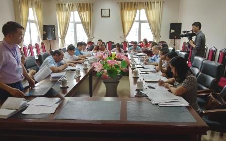 Đoàn công tác Ban tuyên giáo TW làm việc với Ban Tuyên giáo tỉnh ủy và các ngành liên quan