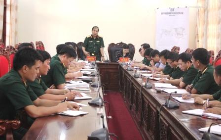 Trung tướng Phùng Sĩ Tấn, Tư lệnh Quân khu 2 kết luận kiểm tra