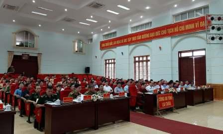Quang cảnh Hội nghị tại điểm cầu tỉnh Lai Châu
