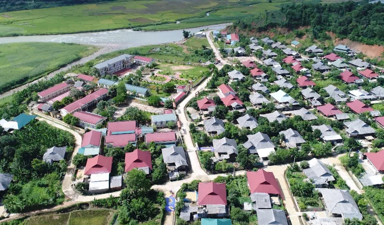 Bản nông thôn mới xã Mường Mít, huyện Than Uyên