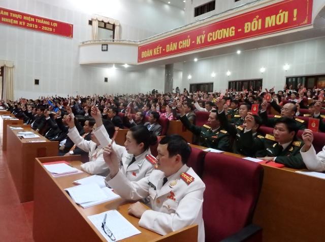 Đại hội đảng các cấp thể hiện trí tuệ, sự đoàn kết, thống nhất trong Đảng