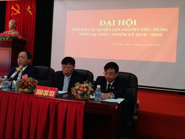 Đoàn Chủ tịch điều hành Đại hội Hội BVNTD tỉnh lần thứ II, nhiệm kỳ 2018 - 2023