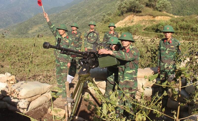 Quyết tâm bảo vệ vững chắc Tổ quốc Việt Nam xã hội chủ nghĩa