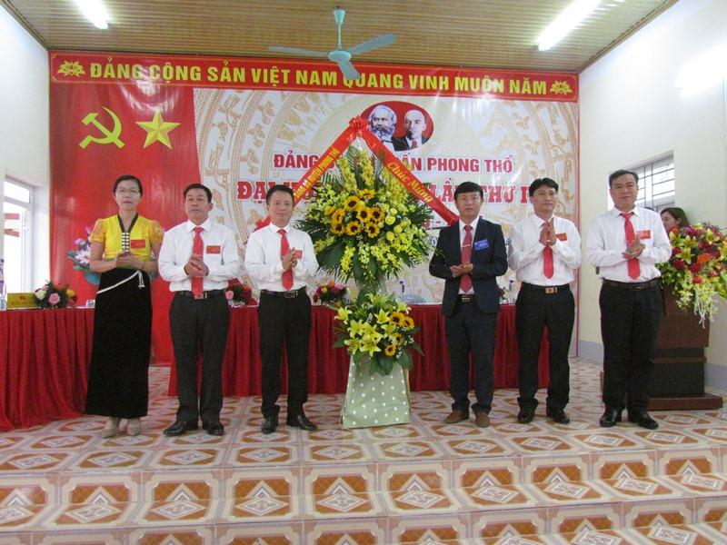 Đại hội Đảng bộ thị trấn Phong Thổ lần thứ IV, nhiệm kỳ 2020-2025