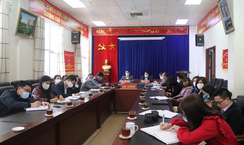 Hội nghị tại điểm cầu tỉnh