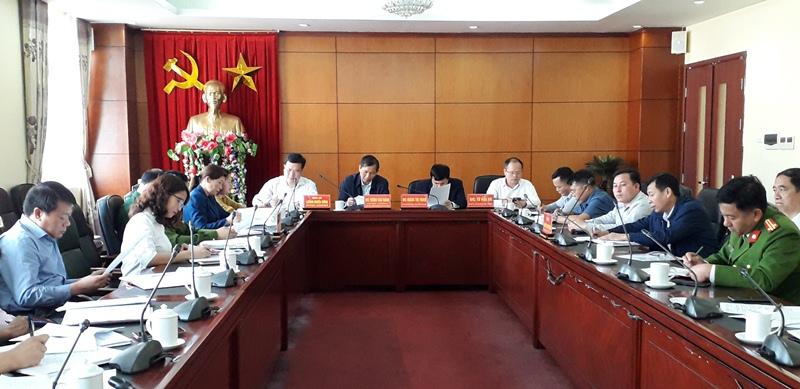 Hội nghị giao nhận xã Sùng Phài - huyện Tam Đường về xã Sùng Phài (mới) - thành phố Lai Châu