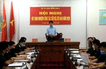 Đồng chí Hà Trọng Hải - Tỉnh ủy viên, Phó Chủ tịch UBND tỉnh tham gia phát biểu tham luận tại hội nghị